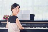 Korean musician — Stock Photo