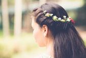 Beautiful hairstyle — Stock Photo
