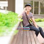 Joyful male student — Stock Photo #50352297