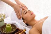 Shiatsu massage — Stock Photo
