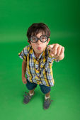 Boy in glasses — Stock Photo