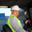 Forklift driver — Stock Photo #16764297
