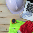 Work tool and safety — Stock Photo #16764673
