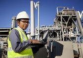 Engineer power and energy — Stock Photo
