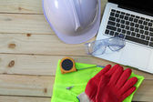 Work tool and safety — Stock Photo