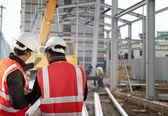 Trabajador de la construcción — Foto de Stock