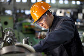 Technician at work — Stock Photo