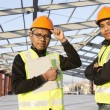 Construction engineers - Foto Stock