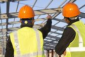 Construction engineers — Stock Photo