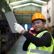 Stock Photo: Industrial engineer