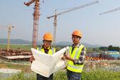 Construction worker — Stockfoto