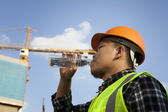 Construction worker — Foto Stock