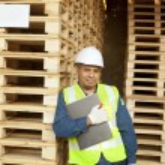 Carpenter standing — Stock Photo #37634177