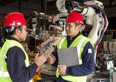 工业工程师 — 图库照片