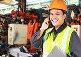 Factory engineer — Stock Photo