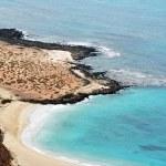 Sea landscape, Lanzarote — Stock Photo #13571496