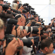 Stock Photo: Photographers at Venice Film Festival