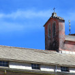 Foto Stock: Church rooftop