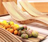 Details of interior design at Salone del Mobile — Stock Photo