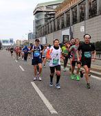 Maratona di milano città, milano — Foto Stock