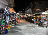 The market in Thassos, Greece. — Stock Photo