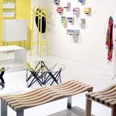 Salone del mobile, internacional fornecendo exposição acessórios — Fotografia Stock