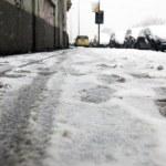 Cars frozen on the street — Stock Photo #38491537
