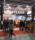 International Tourism Exchange Exhibition. — Stock Photo