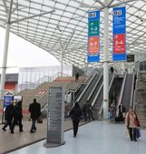 обмен международная туристская выставка — Стоковое фото
