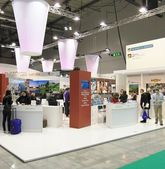 International Tourism Exchange Exhibition — Stock Photo
