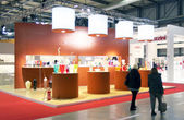 Výstava mezinárodní bytový design a příslušenství — Stock fotografie