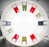 New design chairs — Stock Photo