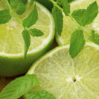 Royalty-Free Stock Photo: Lime and mint