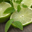 Royalty-Free Stock Photo: Lime slices