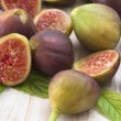 Figs on the table — Stock Photo
