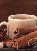Чашка горячего шоколада — Стоковое фото