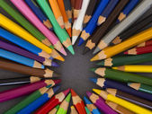 Wooden pencils — Stock Photo