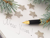 Ano novo — Foto Stock