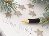 Nowy rok — Zdjęcie stockowe