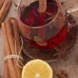 Tea for winter days — Stock Photo