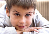 Portrait of young boy — Stock Photo