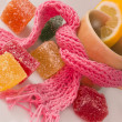Fruit jelly candies - Foto Stock