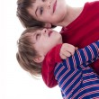 Two brothers hugging — Stock Photo #19210115