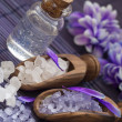 Purple spa arrangement — Stock Photo #19223869