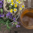 Herbal tea - Stockfoto