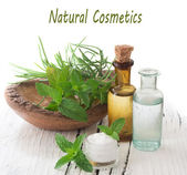Natural cosmetics — Stock Photo