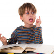 Young pupil — Stock Photo