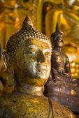 Old buddha Face grunge   — Zdjęcie stockowe