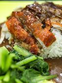 Doce de arroz de pato grelhado — Fotografia Stock