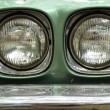 Car headlights retro style — Stock Photo #31322373